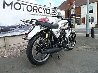 CS 125cc motorbike motorcycle for sale - 2017 model - MOT until Jul 2020