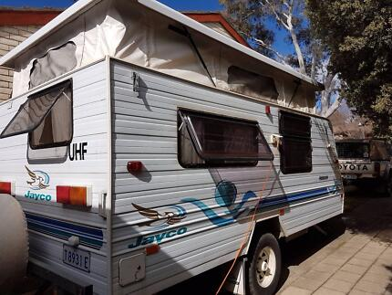 2001 Jayco Freedom 15ft pop top with air conditioning