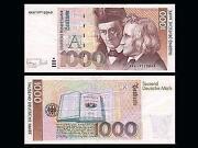 Geschredderte Banknoten