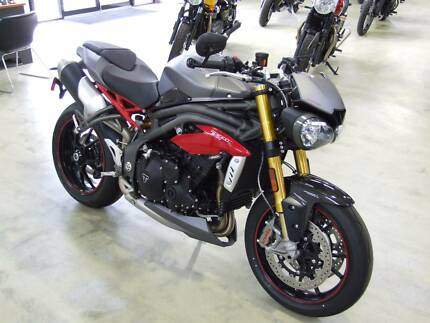 2016 Triumph Speed Triple R 1050 $17,990! ONE ONLY! Davenport Bunbury Area Preview