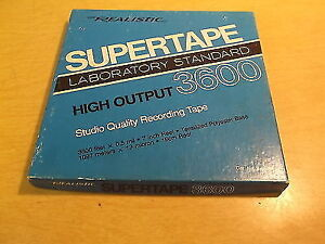 SuperTape highoutput quality recording tape, unopened still seal