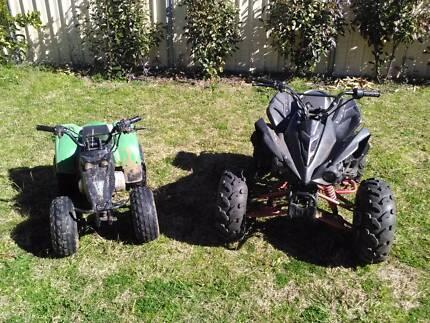Quad bikes and parts