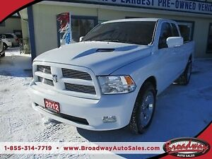 2012 Dodge Ram 1500 WORK READY 'POWER EQUIPPED' 5 PASSENGER 5.7L