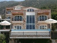 Four bedroom short stay apartments in Turkey. Fully serviced