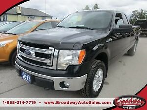2013 Ford F-150 READY TO WORK XLT MODEL 6 PASSENGER 5.0L - V8..