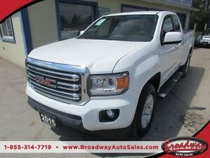 2015 GMC Canyon LIKE NEW SLE EDITION 4 PASSENGER 3.6L - V6.. 4X4