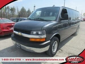 2016 Chevrolet Express 1-TON PEOPLE MOVING LT MODEL 15 PASSENGER