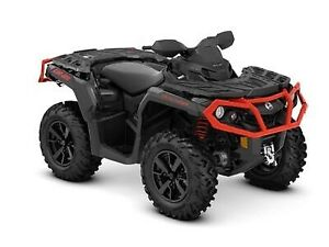 2019 Can-Am Outlander XT 650 Black & Can-Am Red