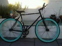 Muddyfox fixie push bike