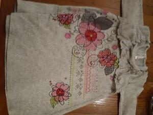 Girls Size 3T tunic style dress - purchased from Charlottes Web