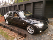 BMW 320i sapphire black Terrigal Gosford Area Preview