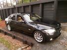 BMW 320i sapphire black