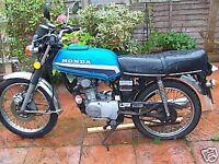 Honda cb100 1983