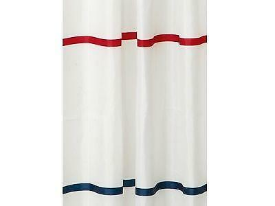 Red White Blue Shower Curtain Ebay