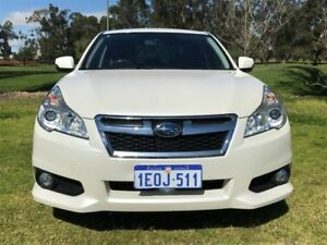 2014 Subaru Liberty B5 MY14 2.5i Lineartronic AWD White 6 Speed Constant Variable Sedan