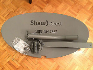 Shaw Satelite dish replacement parts
