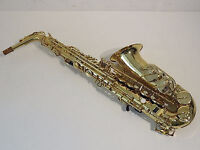 ALTO SAX HARDLY USED NICE INSTRUMENT WITH CASE AN ACCESSORIES