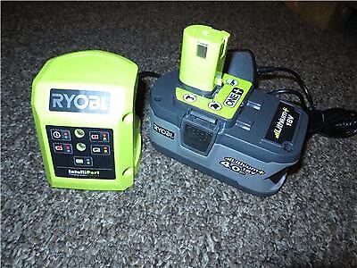 Ryobi RB18L40 18v 4.0Ah Li-ion Battery & Intelliport Charger **NEW**