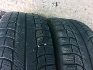 2X 195 65 15 X-Ice Winter tires Pneus D`hiver 120