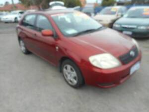 2003 Toyota Corolla Hatchback Perth Perth City Area Preview