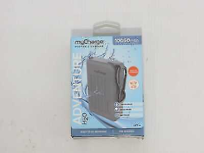 MyCharge Adventure Max, H2O 10,050mAh Portable Charger, Gray (AHC10G-A)