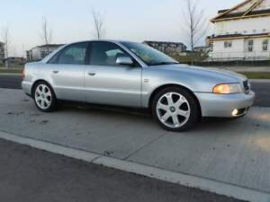 2000 Silver Audi A4 1.8T Quattro Manual, Sport Package W/ Mods