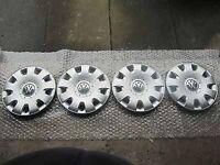 """15"""" Volkswagen Wheel Trims"""