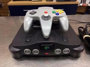 Console Nintendo 64 + accessoires 2 manettes  ***Testée et Garantie***  #F025026
