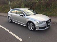 Audi A3 S Line diesel 2014 silver