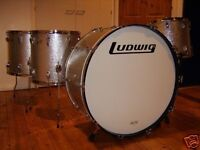 Silver Sparkle Vintage Ludwig kit (Very rare Led Zeppelin Style)