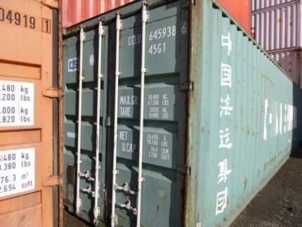 40' Containers delivered to Clonbinane for 3250