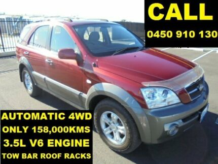 2006 Kia Sorento BL 05 Upgrade Burgundy 5 Speed Tiptronic Wagon Ellenbrook Swan Area Preview