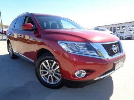 2015 Nissan Pathfinder R52 MY15 ST-L X-tronic 2WD Red 1 Speed Constant Variable Wagon