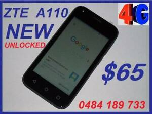 NEW ZTE  BLADE A110 4G UNLOCKED  4 INCH 5MPX CAMERA $65 Castle Hill The Hills District Preview