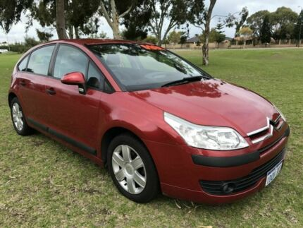 2007 Citroen C4 Red 4 Speed Automatic Hatchback East Rockingham Rockingham Area Preview