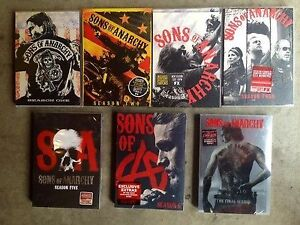 Sons of Anarchy seasons 1-7