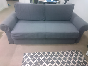 This comfortable sofa bed is for sale. Turrella Rockdale Area Preview