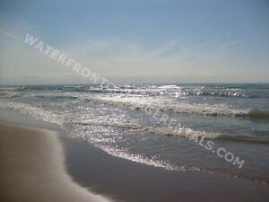 Grand Bend Cottage Rental Steps to the PRIVATE beach!