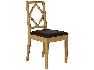 Oak stain dining room chairs