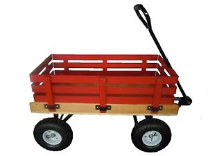 For Sale 16 x 34 Wooden Wagon with racks.