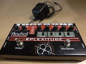 Pédale d'effets a saturation pour guitare TONEBONE / Model RADIAL PLEXITUDE (i011219)
