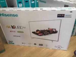 "Hisense 50"" 4K ULTRA HIGH DEFINITION ULED VIDAA SMART TV Dandenong Greater Dandenong Preview"