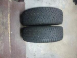 2 TIRES SIZE 205/60 R16 FOR SALE