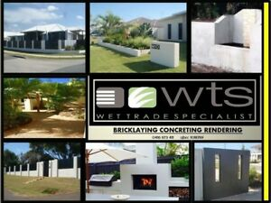 WTS BRICKLAYING CONCRETING LANDSCAPING RENDERING Kunda Park Maroochydore Area Preview