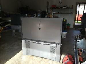 2 Free big screen TV - first come first serve