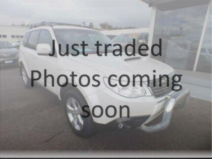 2010 Subaru Forester MY10 XT White 5 Speed Manual Wagon Devonport Devonport Area Preview
