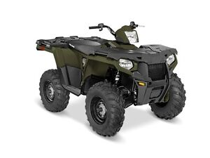 2016 Polaris Sportsman 450 H.O. Sage Green