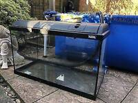 Fluval 200L Fish Tank, Hood & Lights - Can Deliver Local