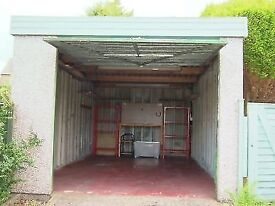 Secure single lock up garage to let, Gilmerton area, ideal for storage