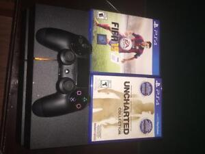 ps4controller with charger unchartedcollection fifa15